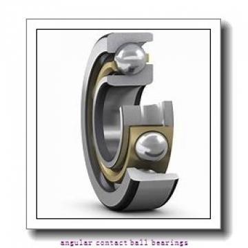 2.165 Inch | 55 Millimeter x 3.937 Inch | 100 Millimeter x 0.827 Inch | 21 Millimeter  SKF QJ 211 MA/C3  Angular Contact Ball Bearings