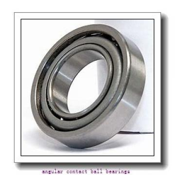 95 mm x 170 mm x 55,58 mm  TIMKEN 5219  Angular Contact Ball Bearings