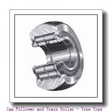 CONSOLIDATED BEARING NA-22/6-2RSX  Cam Follower and Track Roller - Yoke Type